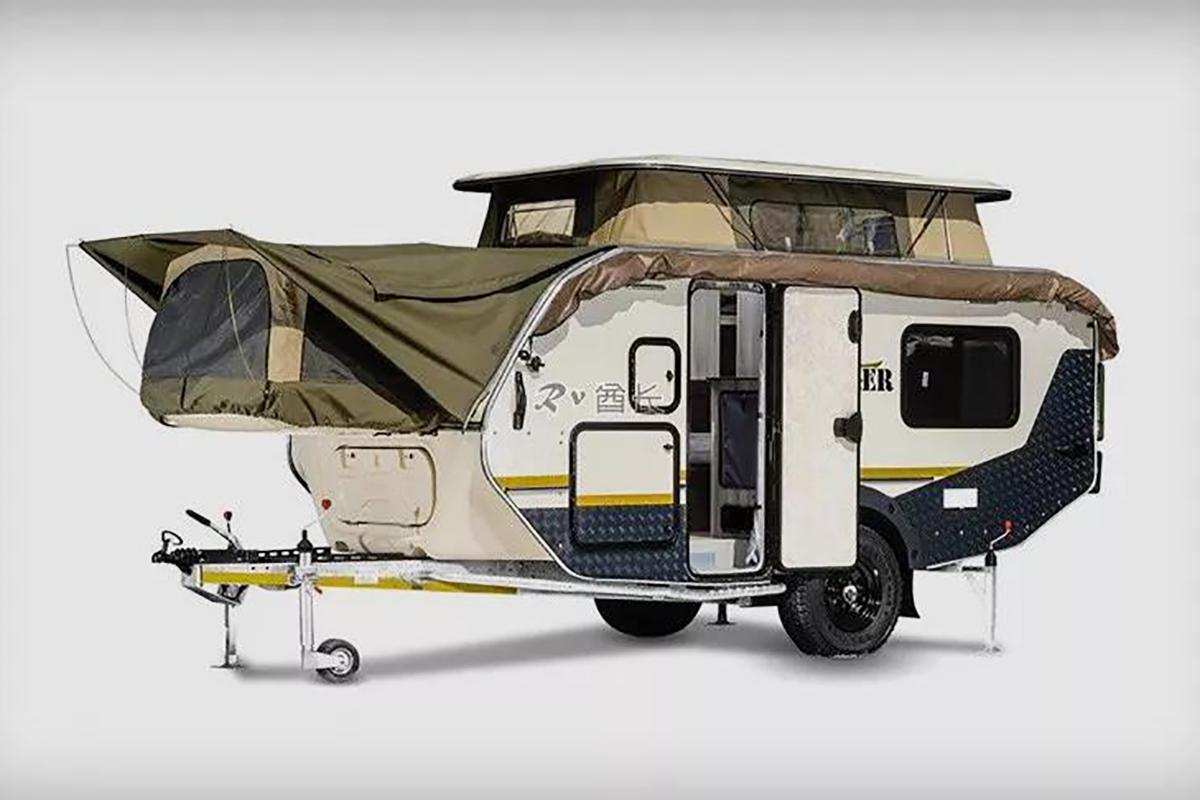 来自南非的 Xplorer 越野拖挂房车:外观霸气紧凑易拖,内部设施齐全