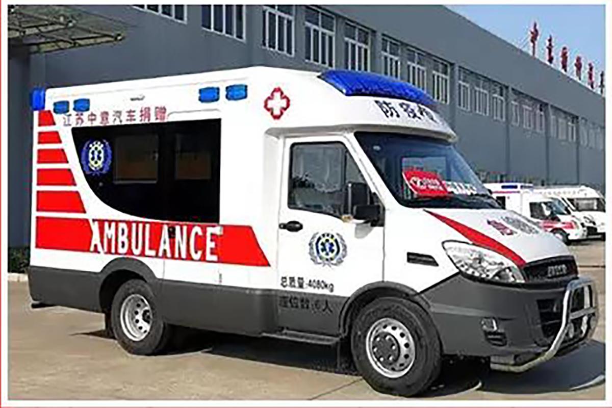 防控疫情 中意在行动!中意房车捐赠一辆防疫型救护车