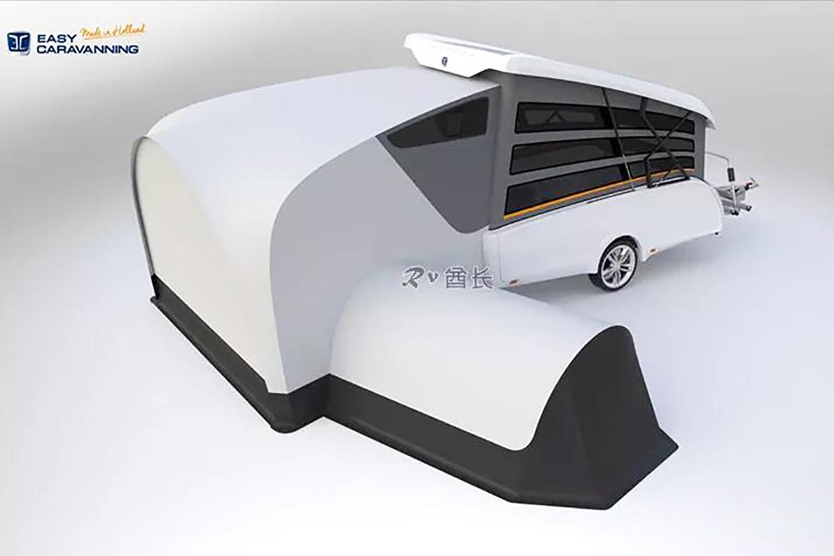 准备起飞!荷兰公司推出了其首款折叠露营房车Take Off