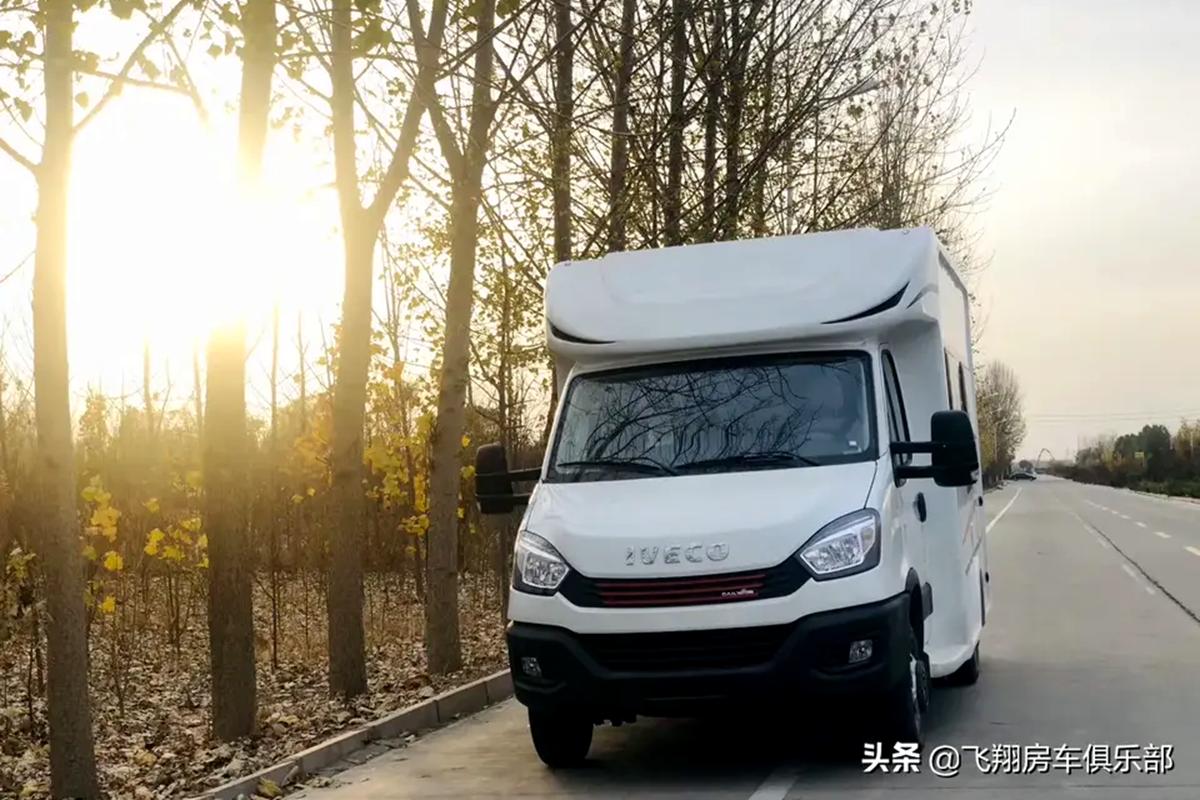 柴油灶+隐藏式橱柜 2020款飞翔依维柯T型房车41.68万