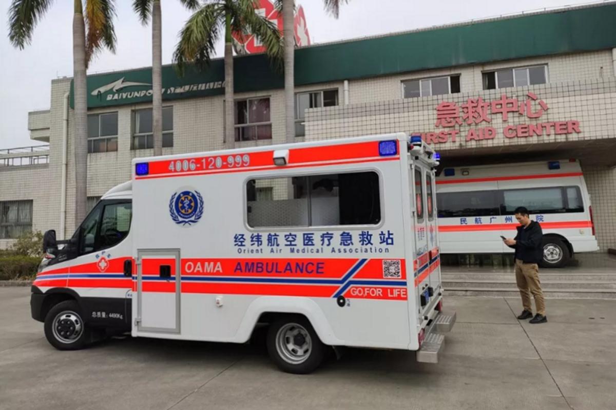 进口依维柯New Daily底盘改救护车 更稳更安全