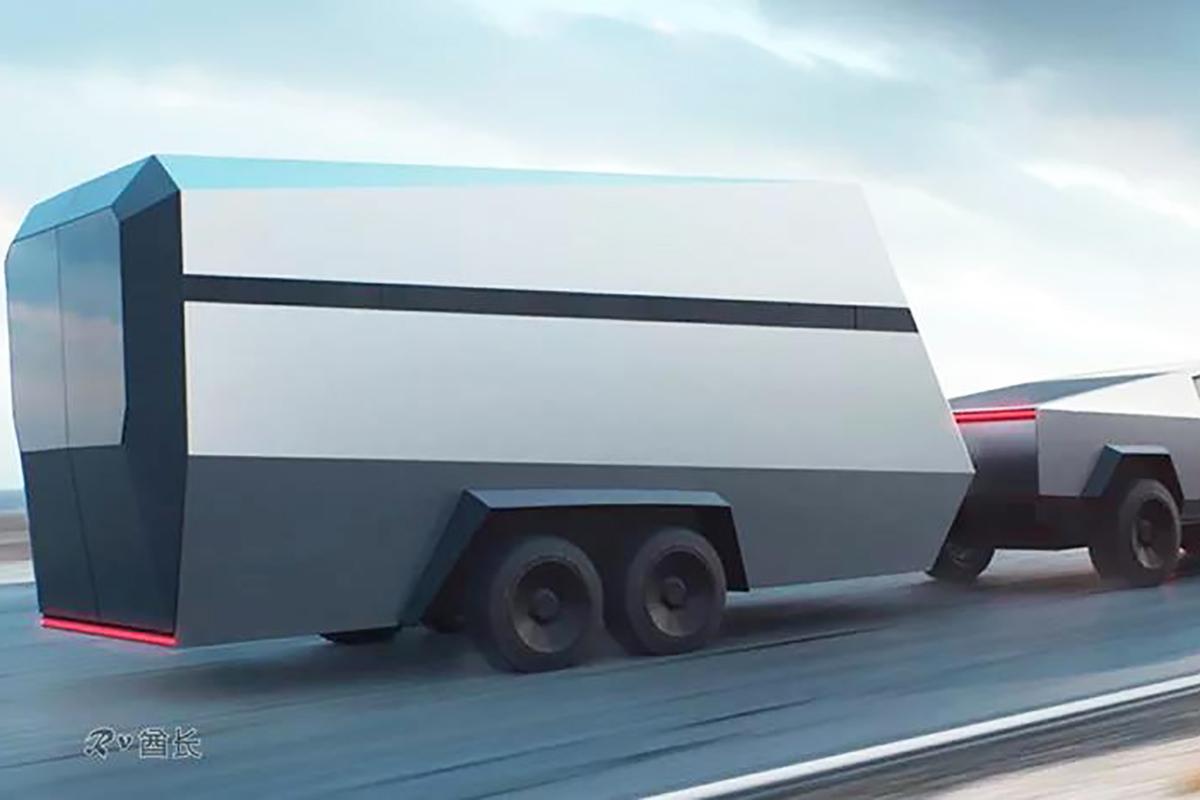 特斯拉皮卡Cybertruck匹配拖挂房车或将颠覆露营车/拖挂房车行业