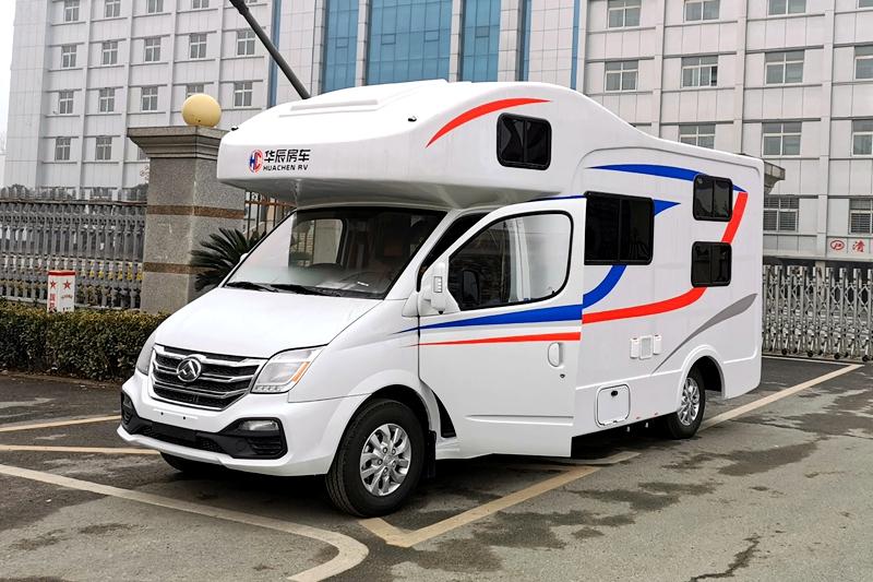 额头床+子母床布局 华辰V80 C型房车30.8万起售