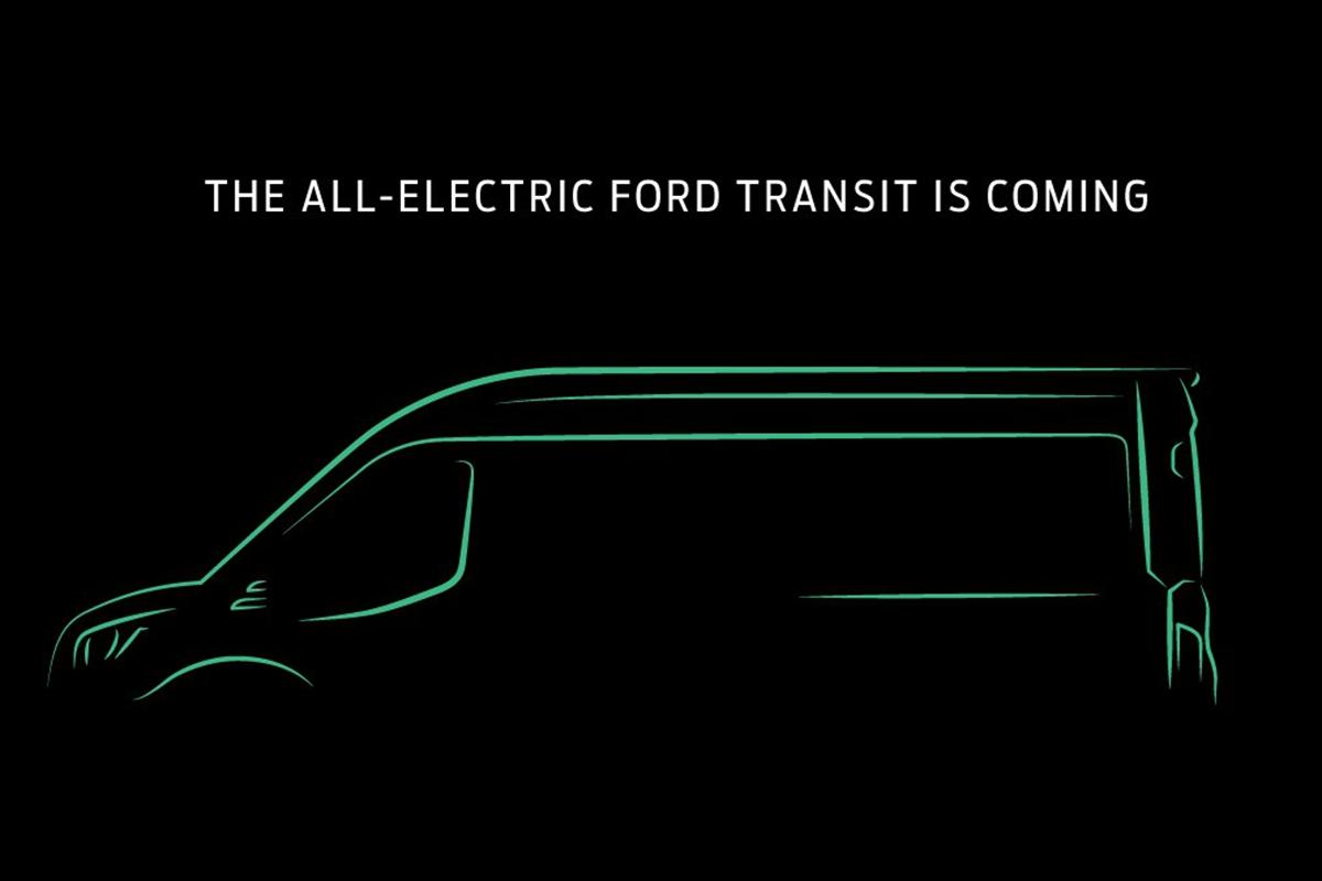 福特全顺推纯电动车型!国内市场啥时候能跟进呢?
