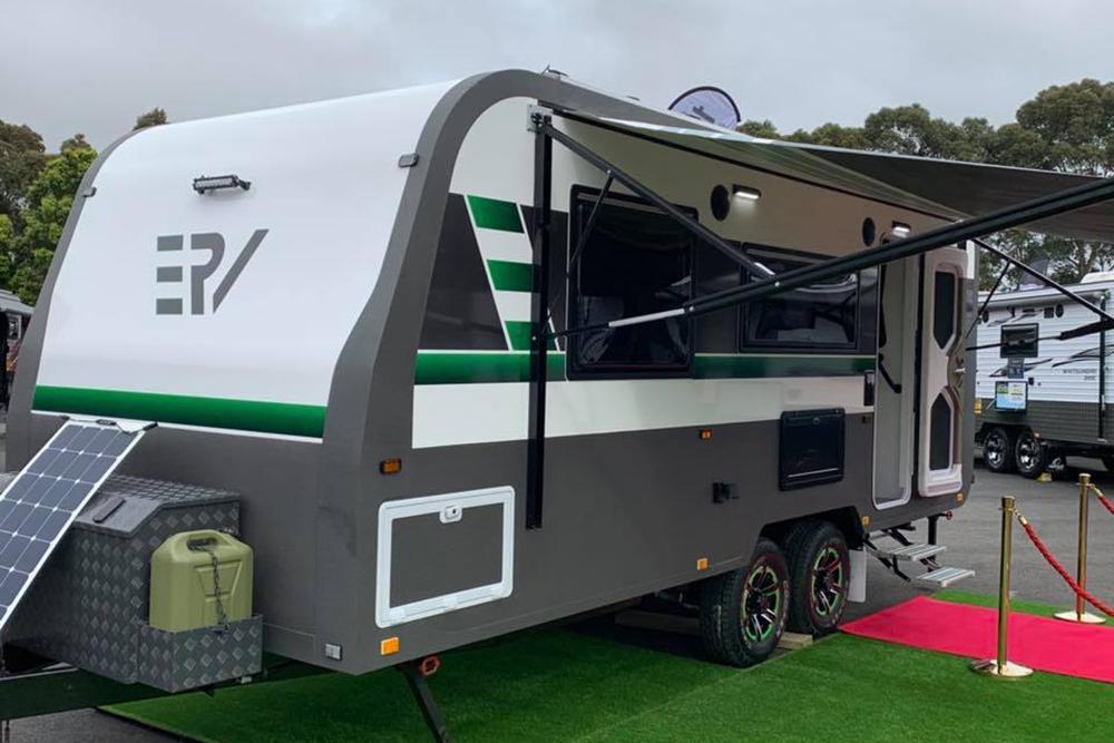 纯电动越野拖挂/适配48V电路系统 这款澳洲房车内饰设计真漂亮!