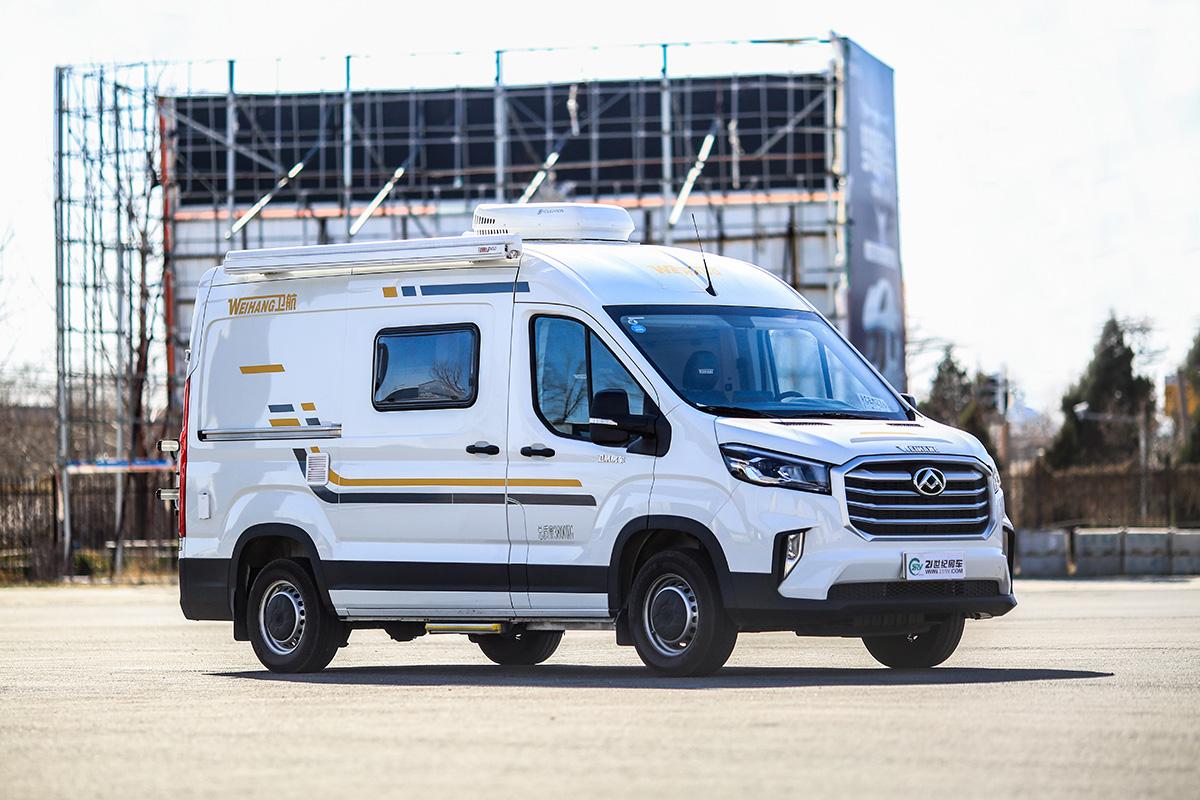 突然变风格了?卫航MAXUS V90 B型房车正式上市