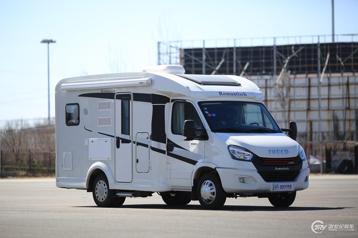 直播期间43.8万元起售 罗曼特斯T2大纵床版C型房车直播预告