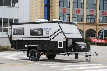 既后拓展布局又是户外越野利器 康派斯CS26越野拖挂房车15.8万元起售