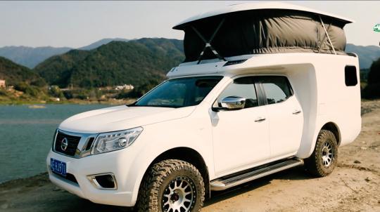 霞客乐升降顶房车-车与旅馆的完美结合 车高仅2米18还是全铝车身