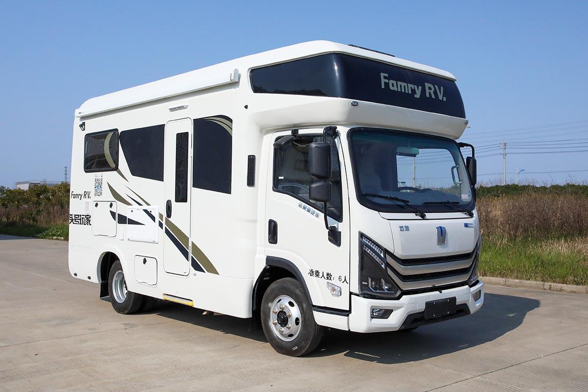 法美瑞质尚版新能源房车正式发布 73.8万元起售