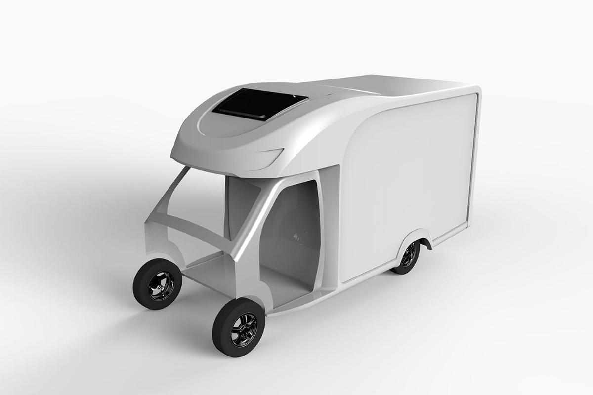 鲁道尔首款C型房车设计图曝光!名为依诺巴赫或将近期正式发布
