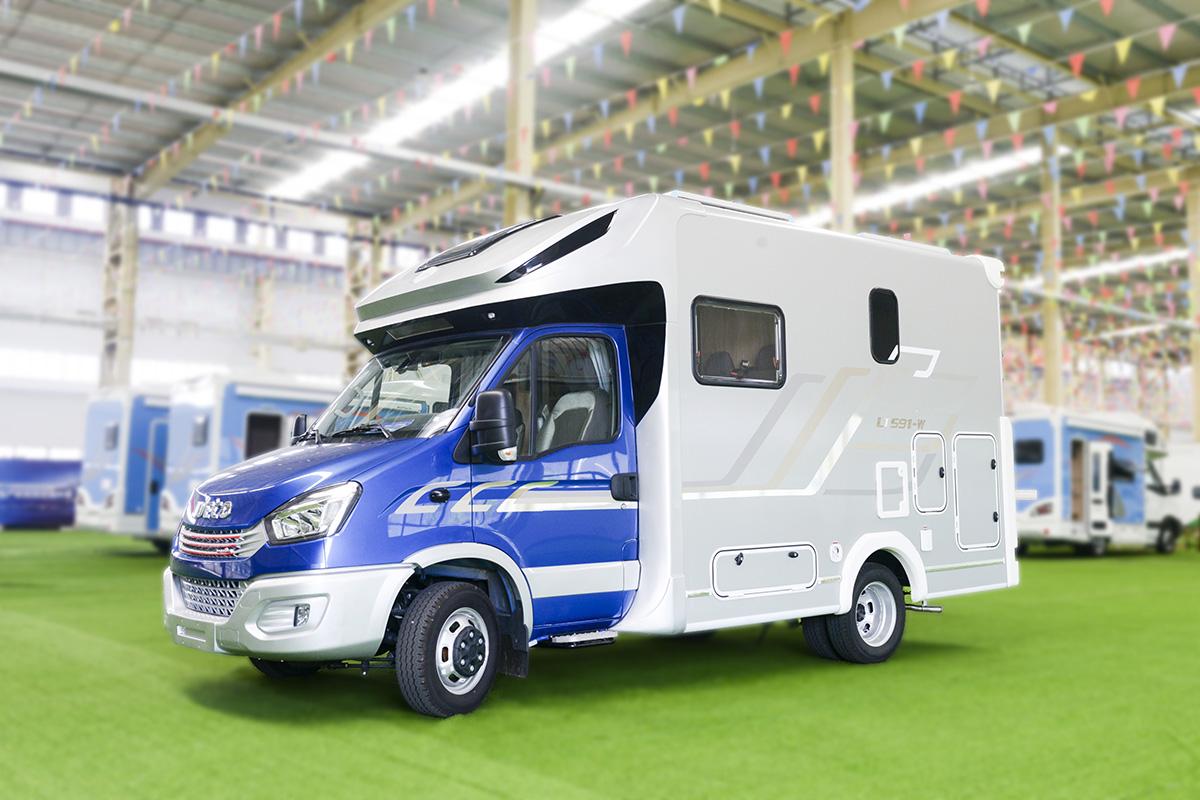 61.8万起售 隆翠LC-01T型房车成都房车购车节首发