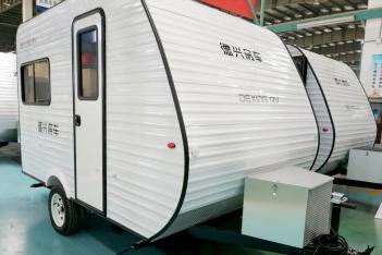 标配吊床 德兴美式小拖挂313-4型6.28万起售