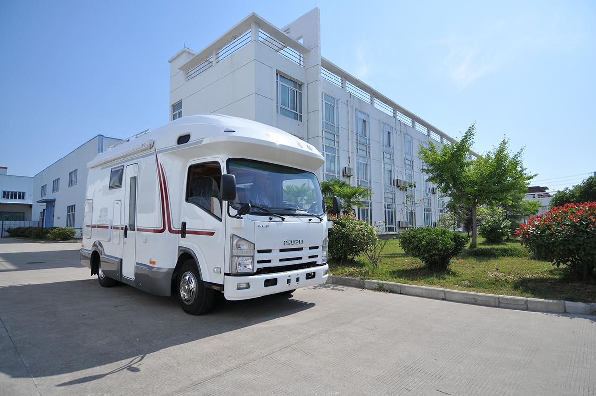 9月10-13日北京房车展览会:富士多款房车参展