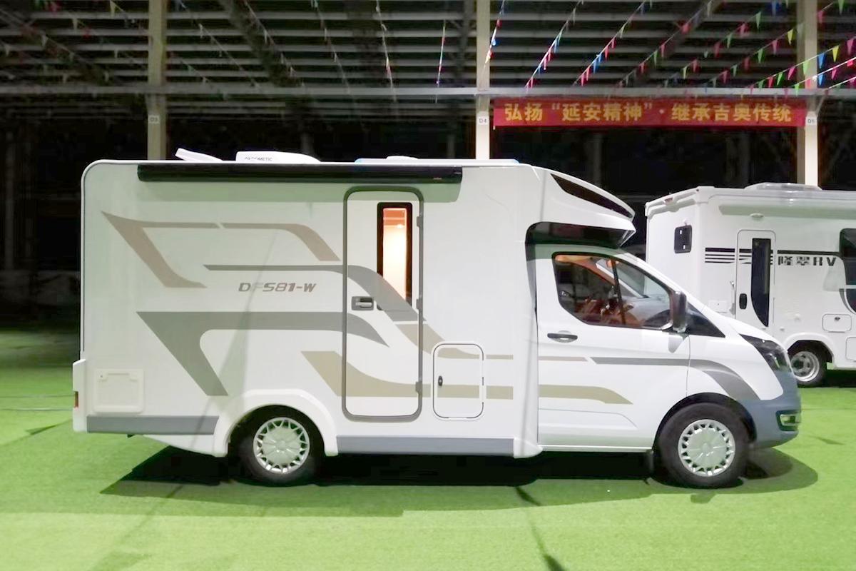 基于新全顺打造 隆翠全新车型581-W即将北京房车展首发