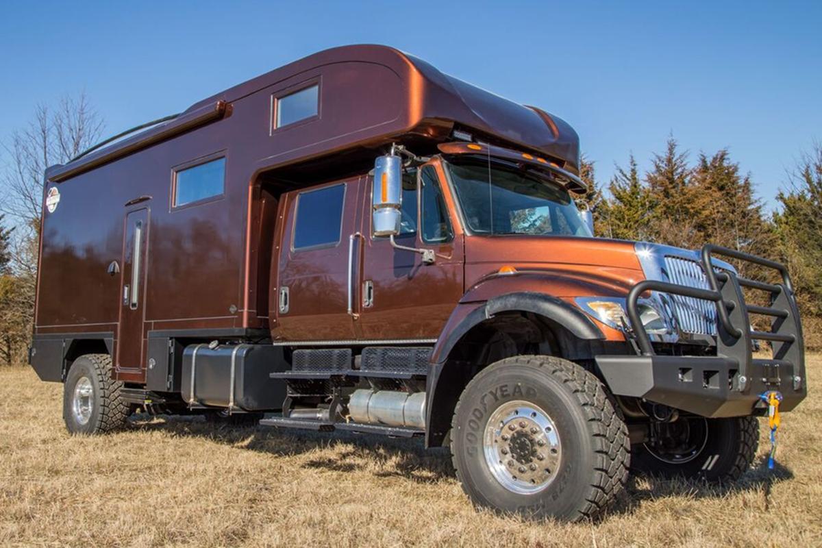 一款可以定制的越野房车,超厚箱体结构,冬暖夏凉