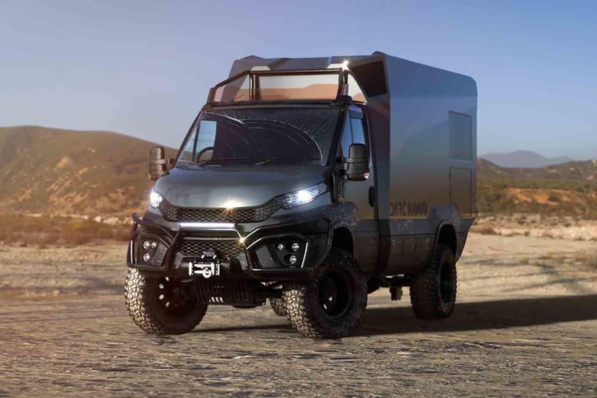 这款依维柯四驱探险房车,厢体竟是单体可回收碳纤维