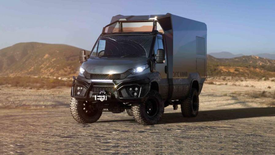 依维柯四驱越野房车!单体碳纤维车厢并且可完全回收