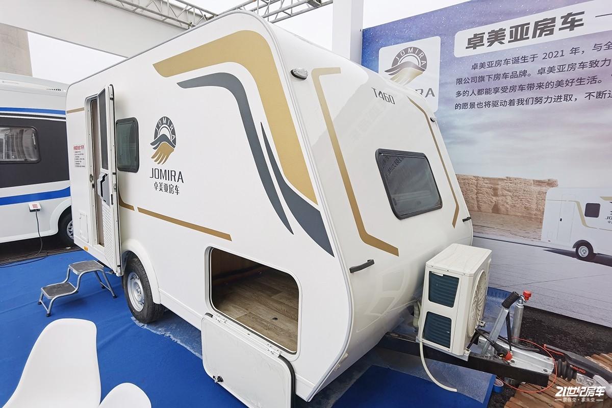 大品牌只要9.18万起!卓美亚T460拖挂房车正式上市