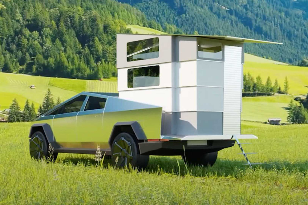 别等小米房车了!特斯拉四层折叠房车已经开始预订,都是黑科技