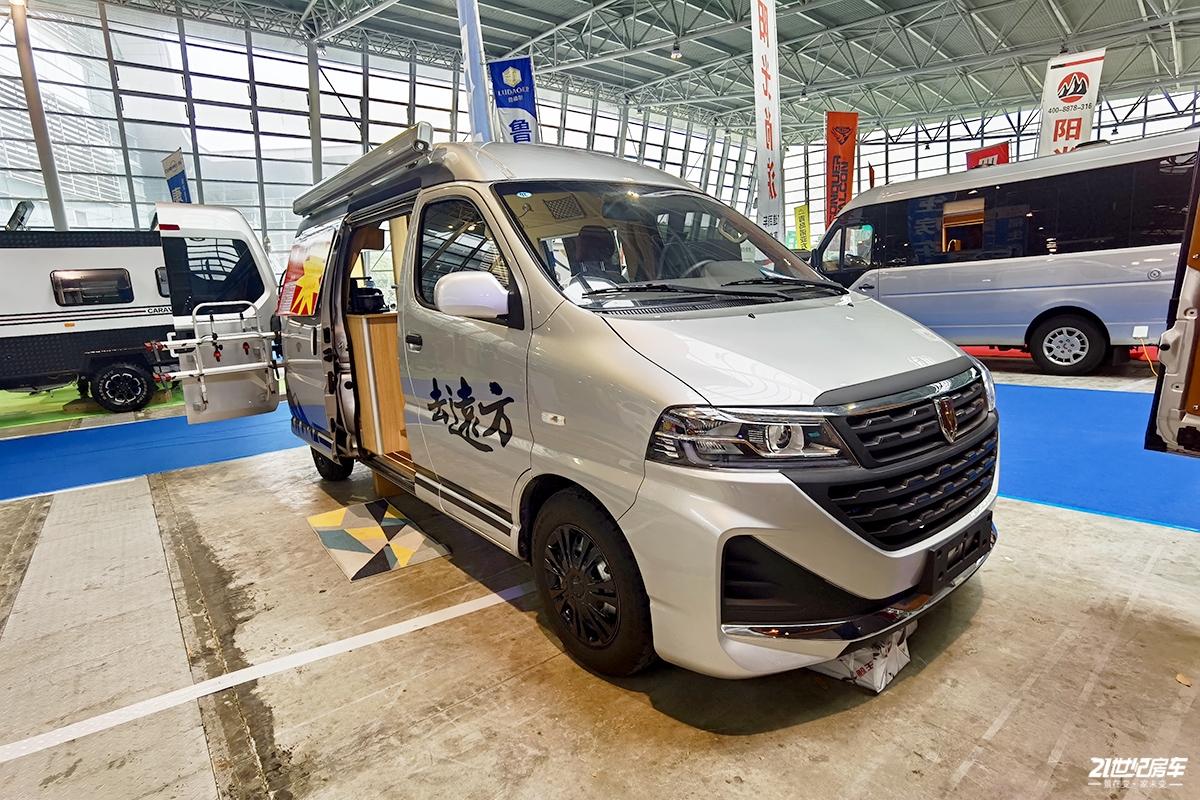 未来轻型商用车的可塑之星 福生金杯海狮王房车13.8万元