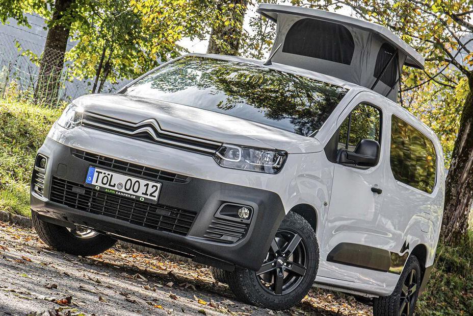 雪铁龙推出四驱微型房车!家用MPV的另一种新玩法