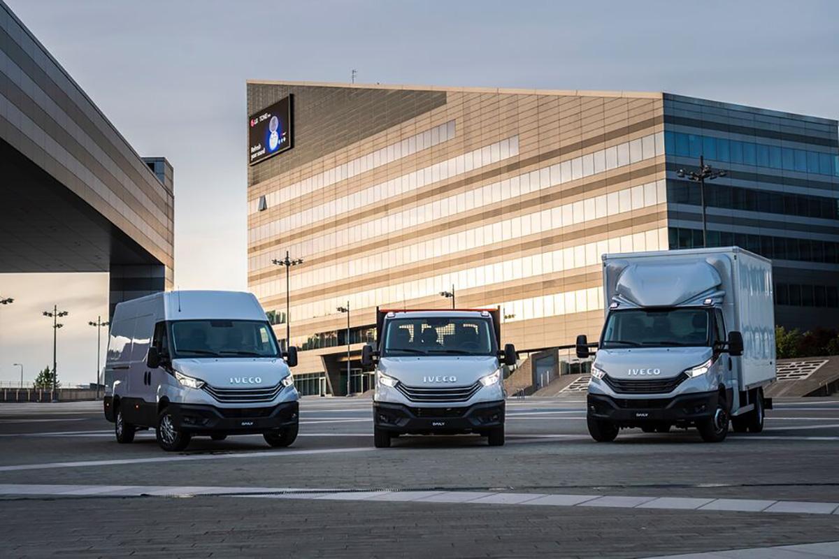 新款进口依维柯官图发布 新增自动空气悬架和语音控制系统