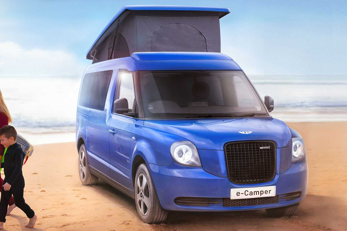 吉利旗下品牌开始做纯电动露营车?升降车顶、续航能到400km+