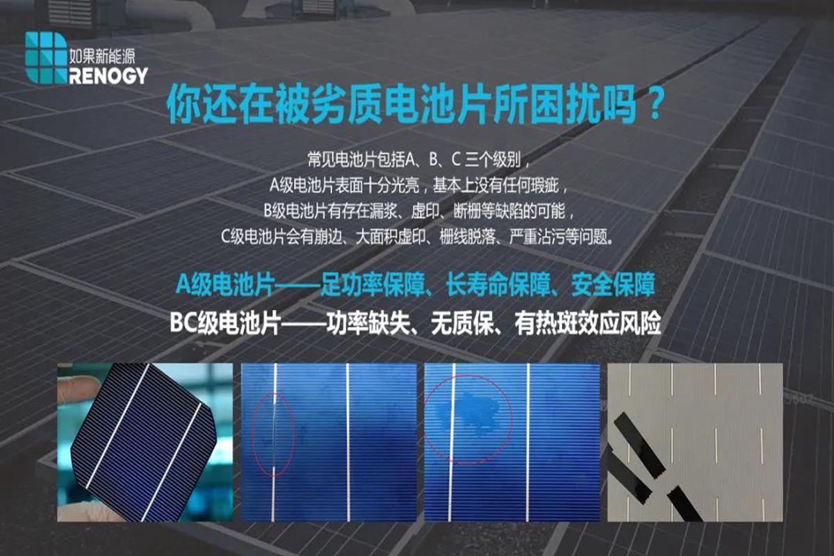 RENOGY新品:9线半片柔性单晶硅太阳能电池板