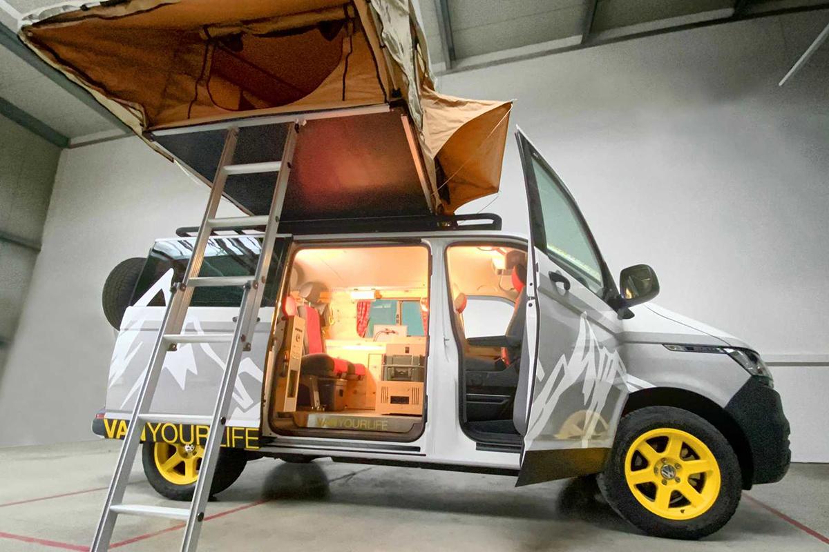 Flowcamper大众露营车,满足4人旅行,功能全面,订车竟半年以上!