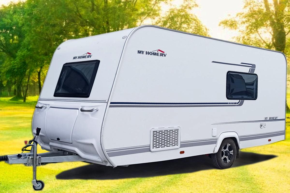 对卡座可拼床+干湿分离式卫生间,美式家具,沃德佳W650拖挂房车