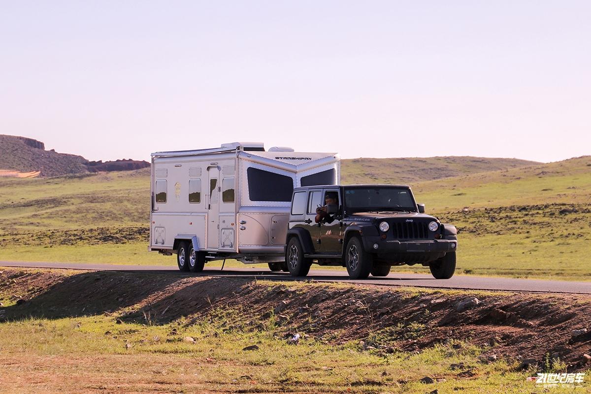 航空铝材车身,美式房车经典元素,星舟星罡拖挂带你说走就走的旅行