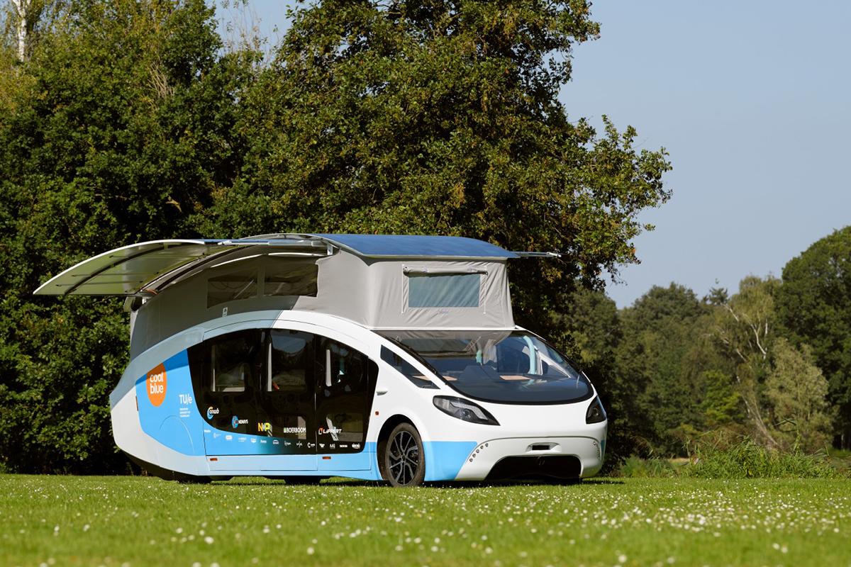 终于可以放心用电了!太阳能房车真的来了,最长续航730公里