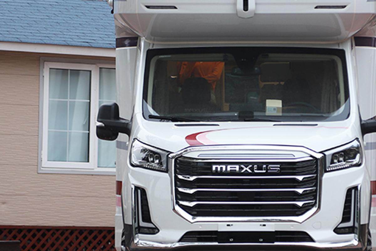 上汽大通MAXUS新款房车曝光,近期上市!智能科技或将成为升级重点!
